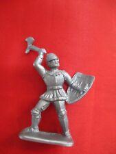 JEM Figurine moyen age 1/32 soldat combattant hache&bouclier Norev Non peint