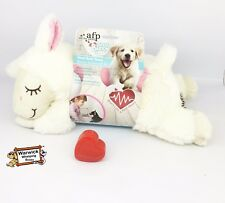 "Comforter Puppy Dog Calming Toy ""Real Feel"" Heart beat Plush Teddy Whelping"