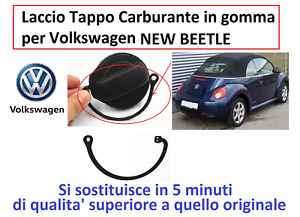Laccetto Filo Cordino Cavetto per Tappo Serbatoio Volkswagen NEW BEETLE
