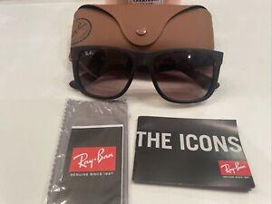 Ray-Ban Justin Brown Tortoise Sunglasses RB4165 710/13 54