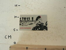 STICKER,DECAL KORPS MARINIERS  LEGER ARMY SILVER ALU COLOR