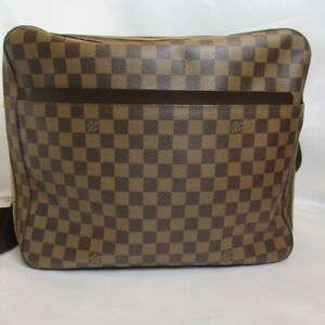 Auth Louis Vuitton N45251 Dorsoduro Shoulder Messenger Bag Damier Ebene (120320)