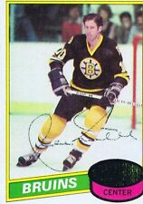 Jean Ratelle 1980 Topps Autograph #6 Boston Bruins