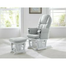 TUTTI Bambini Gc35 Deluxe Glider Nursing Rocking Feeding Chair With Stool