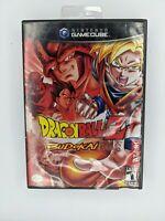 Dragon Ball Z: Budokai 1 Black Label (Nintendo GameCube, 2003) Complete CIB