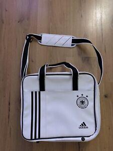 DFB limitierter Adidas Trikotkoffer / Trikottasche Authentic Techfit in Weiss