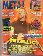 METAL SHOCK N°200/1995 METALLICA GRAVE DIGGER SLAYER TESTAMENT DOWN BLIND MELON