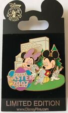 Disney WOD NYC Easter 2007 Mickey & Minnie Mouse Pin LE 1000