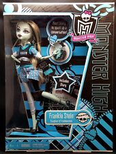 NEW Monster High Frankie Stein 1st Edition V7989 Diary Skull Brush Laptop 2010
