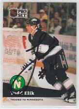 Autographed 91/92 Pro Set Todd Elik - North Stars