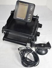 Eagle Supra Pro I.D. Portable Fishfinder Fishing Sonar System, Transducer, Case