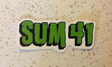 Sum 41 Rock Band Sticker