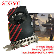 2GB DDR5 128Bit PCI-Express HDMI Game Video Graphics Card for NVIDIA GTX750TI