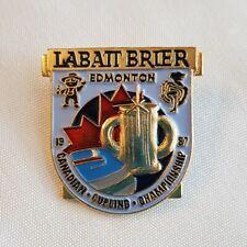 Curling Pin - Edmonton 1987 Labatt Brier - Canadian Curling Championship