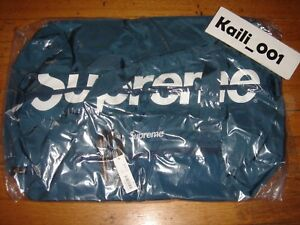 Supreme Duffle Bag SS17B8 Teal BNWT Cordura 2017 B