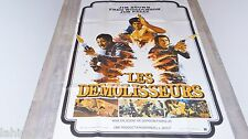 blaxploitation LES DEMOLISSEURS  ! jim kelly jim brown  affiches cinema 1974