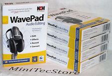 NCH Software WavePad Audio Editing & MixPad Multitrack Windows Mac  New Sealed