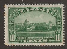 CANADA 1935 #215 King George V Silver Jubilee (Windsor Castle) - F MNH