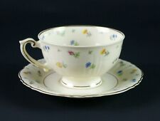 Syracuse Suzanne Cup and Saucer Set, Vintage China Teacup Small Flower Chintz