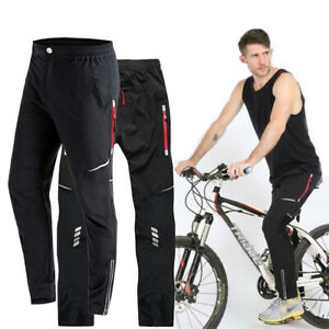 Men Cycling Trousers Drying Mountain MTB Bike Riding Bicycle Long Pants Casual