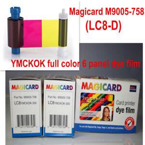 Magicard LC8-D Color Ribbon - YMCKOK - 300 prints - M9005-758