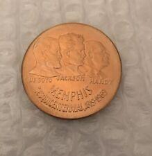 Nice 1969 MEMPHIS SESQUICENTENNIAL medal. DesotoJackson Handy - Bronze