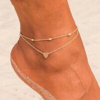 Women Lady Boho Barefoot Sandal Beach Anklet Foot Chain Jewelry Ankle Bracelet