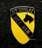"""1st Cavalry Division Vietnam HAT PIN US ARMY CAV FORT HOOD """"THE FIRST"""" IRAQ OEF"""