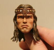 Custom made Arnold Schwarzenegger Conan the Barbarian the destroyer 1/6 HEAD