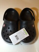 Crocs Crocband II Kids Unisex Child Size J3 J 3 Slip On Clogs Sandals Boys Girls
