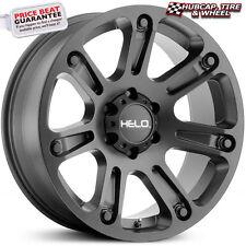 "Helo HE904 Satin Black 18""x9 Custom Rim (ONE Wheel) FREE SHIPPING"