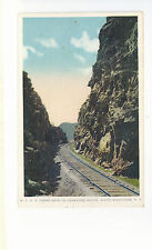 M C Railroad Upper Gate Crawford Notch White Mountains NH  Unused  Postcard 1043