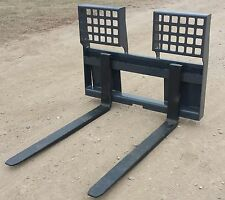 """New 48"""" HD 5500 Lb. Pallet Forks *Free Shipping* Skid Loader / Steer Attachment"""
