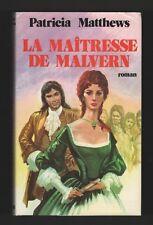 █ Patricia Matthews LA MAITRESSE DE MALVERN Roman 1979 █