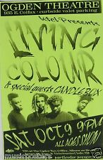 Living Color / Candlebox 1993 Denver Concierto Tour Póster -alternative Funk