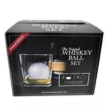 The Original Whiskey Ball Gift Set - Jumbo Silicone Ice Sphere Molds