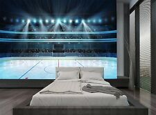 Hockey Stadium Emti Ice Rink Sport Wall Mural Photo Wallpaper GIANT WALL DECOR