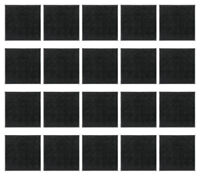 20PCS x 50mm Square Model Bases for WH and FW  Square Bases Plastic wargames