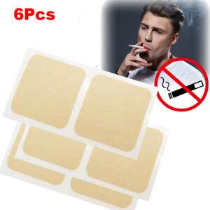 6x Quit Smoking Patch Stop Smoking Stickers Anti Smoking Natural Control Desire