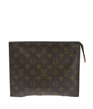 Louis Vuitton M47542 Toiletry 26 Brown Monogram Canvas Cosmetic Bag