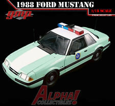 GMP 18845 1:18 1991 FORD MUSTANG UNITED STATES BOARDER PATROL SSP