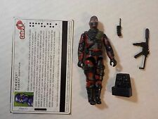 GI Joe Lost years 2005 FIREFLY V13 100% Complete w Filecard FC