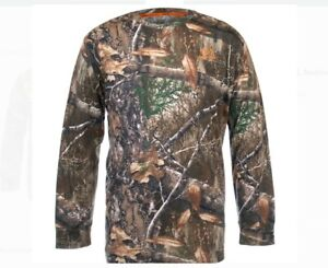 OFFICIAL LICENSED REALTREE CAMOUFLAGE ADULT MEN'S LONG SLEEVES XL T-SHIRT BNWT