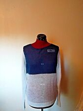 Halogen Womens Sweater Long Sleeve Blue Size Large