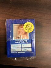 """~~~SEALED~~~ Diana Trask """" Lean It All On Me"""" 8 Track Tape"""