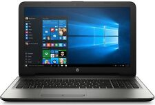 "HP Pavilion Laptop 15.6"" LED QuadCore 4GB 500GB DVD+RW WebCam WiFi WIN10 Silver"