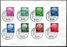 BUND 1954 179-260y gestempelt HEUSS LUMOGEN TADELLOS BEFUND BPP (Z8062