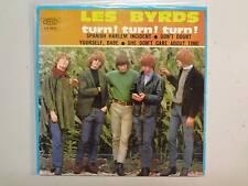 """BYRDS:Turn! Turn! Turn!-Spanish Harlem Incident+2-Spain 7"""" 1966 Epic EP.9035 PCV"""