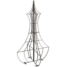 GAR460 H Potter Genie Trellis, Wrought Iron, Patio, Garden, Yard Art, Wall Art