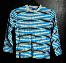 New without Tags Boys Long Sleeved Striped Adams Top - Age 10yrs
